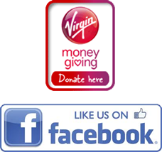 Virgin Giving and Facebook icons